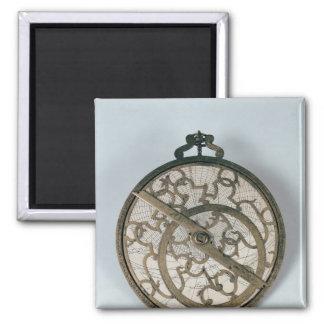 Astrolabe Square Magnet