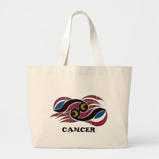 Astrology Cancer Tote Canvas Bag