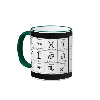 astrology signs mug
