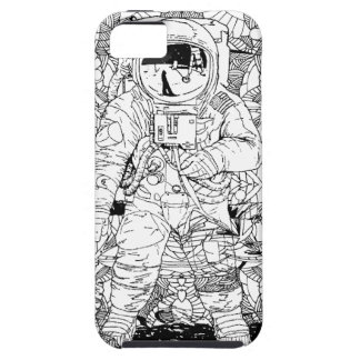 Astronaut abstract case for the iPhone 5