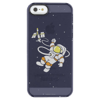 Astronaut Clear iPhone SE/5/5s Case