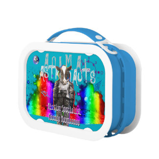 Astronaut Cow Lunch Boxes