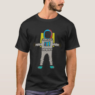 Astronaut (Multicolored) T-Shirt
