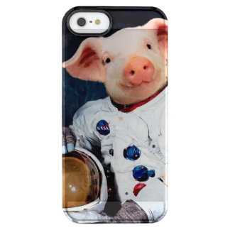 Astronaut pig - space astronaut clear iPhone SE/5/5s case