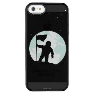 Astronaut Silhouette Clear iPhone SE/5/5s Case
