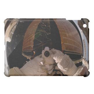 Astronaut uses a digital still camera iPad mini case