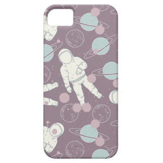 Astronauts in Space Pattern iPhone 5 Cases