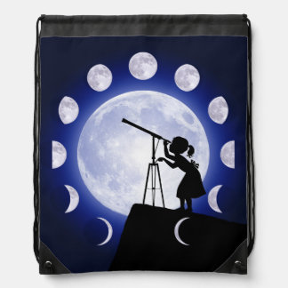 Astronomer's Drawstring Bag