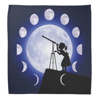 Astronomer's Moon Observation Bandana