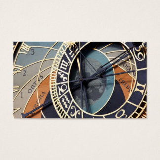 Astronomical Clock Business Card