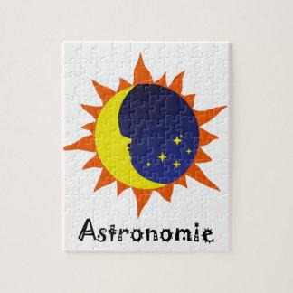 Astronomie Logo Jigsaw Puzzle