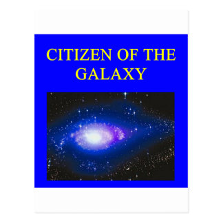 astronomy gifts postcard