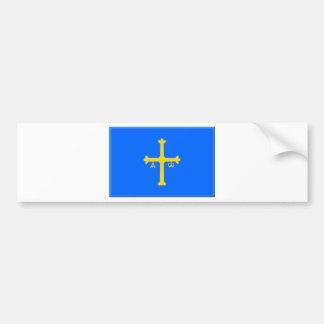 Asturias Flag (Spain) Bumper Sticker