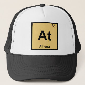 At - Athena Goddess Chemistry Periodic Table Trucker Hat
