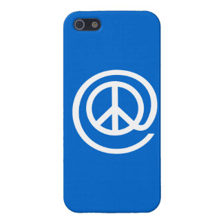 At Peace Sign Cover For iPhone 5/5S