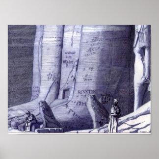 At Pharaoh s Feet - Poster