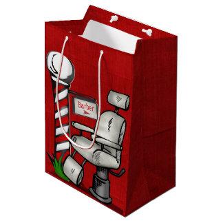 At The Barber Shop Medium Gift Bag