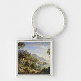 At the Gulf of Salerno, 1826 Key Ring