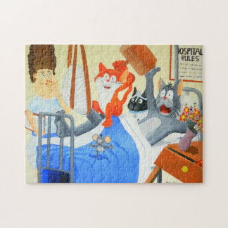At the Hospital Jigsaw Puzzle