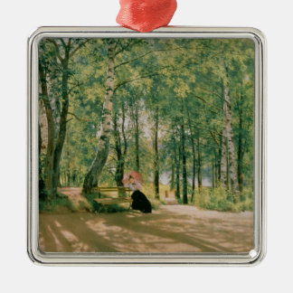 At the Summer Cottage, 1894 Christmas Ornament