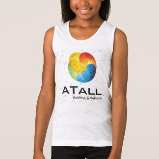 ATALL girl sport wear 1 Singlet