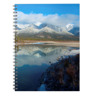 Athabasca River, Jasper National Park, Alberta Spiral Notebook