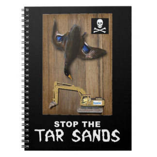 Athabasca Tar Sands Duck Mount Notebook