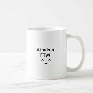 Atheism FTW Basic White Mug