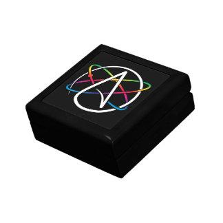 Atheist Atom Rainbow Gift Box
