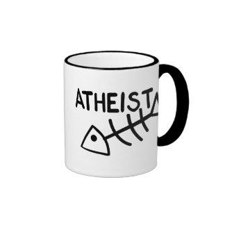 Atheist Fish Ringer Mug