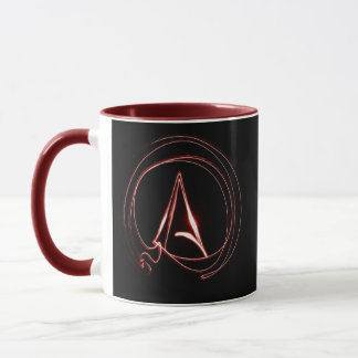 Atheist in Red Mug