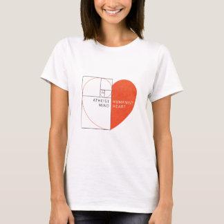 Atheist Mind, Humanist Heart T-Shirt