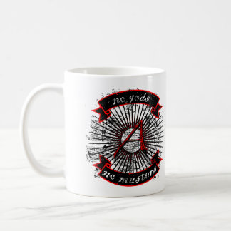 Atheist No Gods, No Masters Coffee Mug