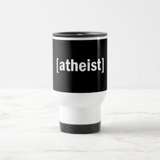 [atheist] stainless steel travel mug