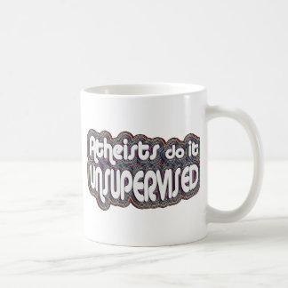 Atheists Do It Unsupervised Basic White Mug