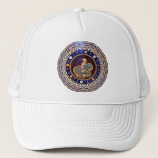 Athena mosaic in the Vatican Museums Trucker Hat