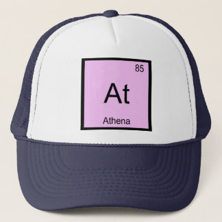 Athena Name Chemistry Element Periodic Table Trucker Hat