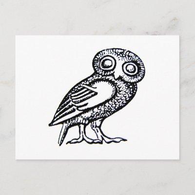 Athena Owl Symbol