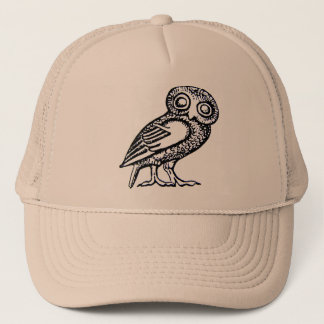 Athena's Owl Trucker Hat