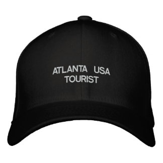 ATLANTA USA TOURIST EMBROIDERED BASEBALL CAPS