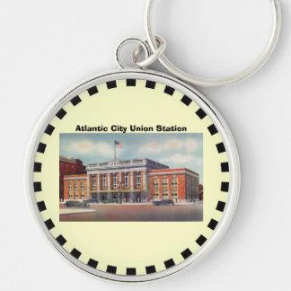 Atlantic City Train Station PRSL 1936 Key Ring