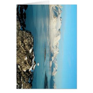Atlantic scenery greeting card