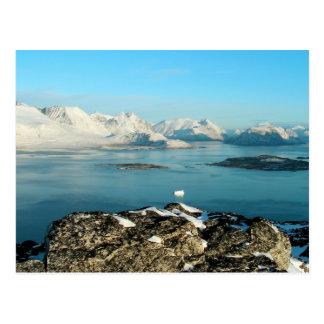 Atlantic scenery postcard