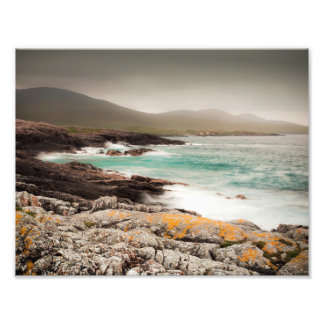 Atlantic Waves in the Outer Hebrides Photo Print