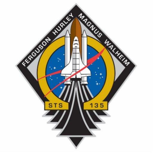 """Atlantis STS-135 """"Final Mission"""" Desk Sculpture Photo Cutout"""