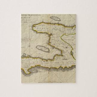 Atlas Map of Haiti Jigsaw Puzzle