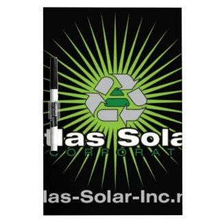 Atlas Solar Inc. Dry Erase Board