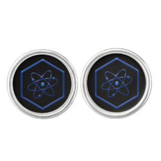Atom Chemistry Symbol Cufflinks
