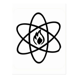 atomic fire postcard