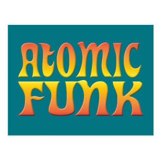ATOMIC FUNK POSTCARD